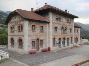 Antigua estación de La Cobertoria